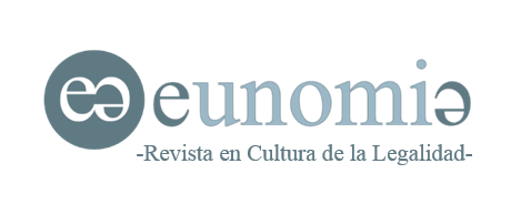 CALL FOR PAPERS EUNOMÍA. REVISTA EN CULTURA DE LA LEGALIDAD (17 ...